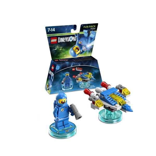 LEGO Dimensions Pack LegoMovie Benny (WIIU PS3 X360 PS4 XONE) LEGO konstruktors