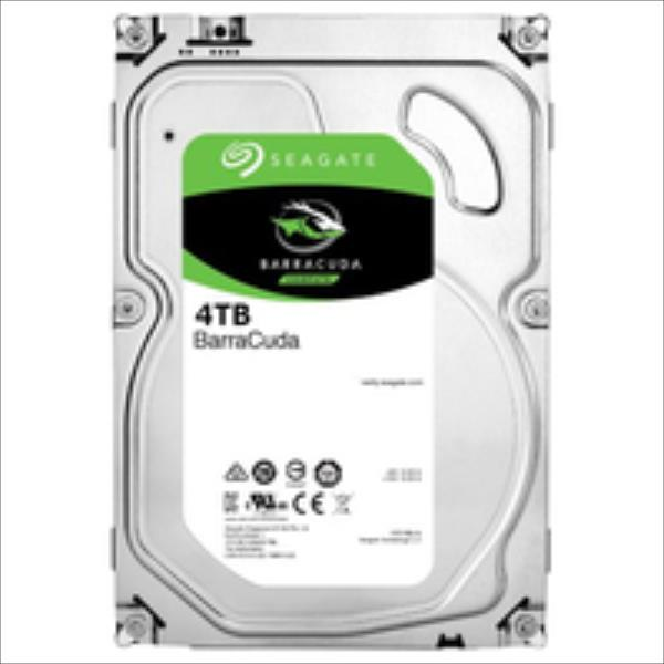 Internal HDD Seagate BarraCuda 3.5'' 4TB SATA3 5900RPM 64MB cietais disks
