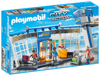 PLAYMOBIL 5338 City-Flughafen mit Tower konstruktors