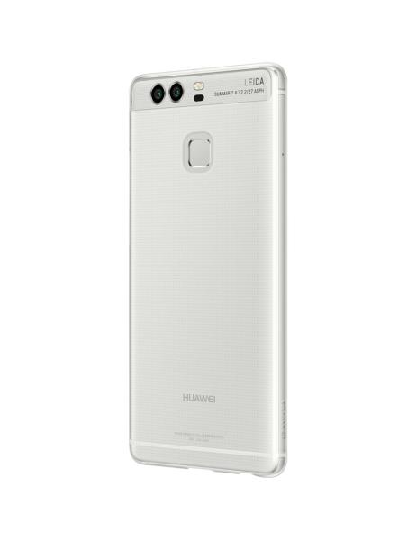Huawei Back cover case for P9(Transparent) maciņš, apvalks mobilajam telefonam