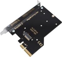 aqua computer kryoM.2 PCIe 3.0 x4 M.2-SSD-Adapterkarte ūdens dzesēšanas sistēmas piederumi