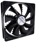 ZALMAN 92MM CASE FAN - SHARK FIN BLADE dzesētājs, ventilators
