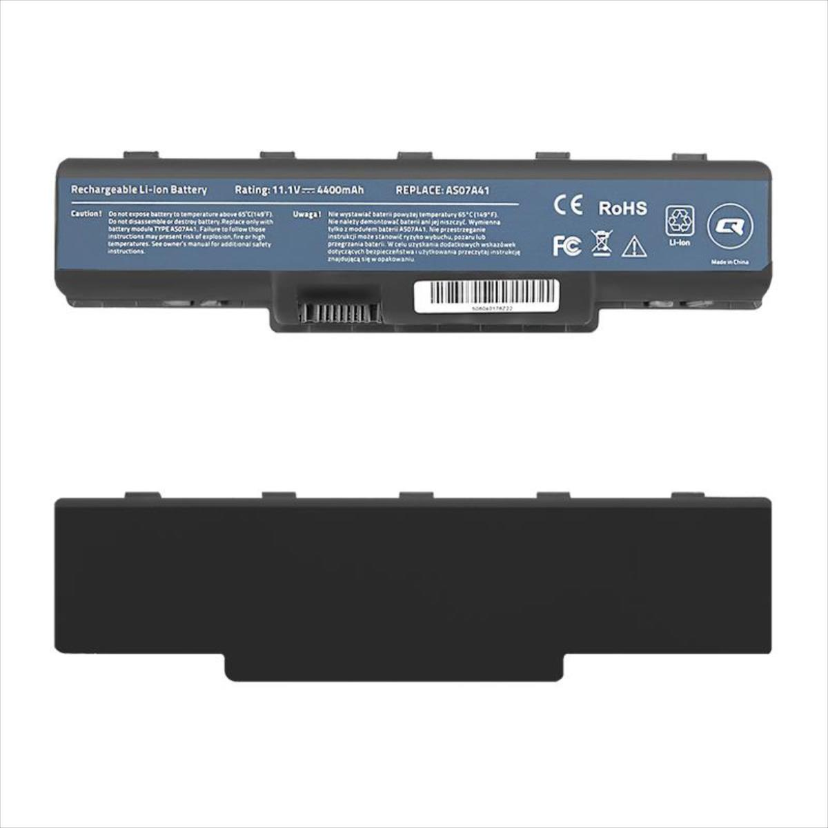 Qoltec Long Life Notebook Battery - Acer Aspire 4710 | 4400mAh | 10.8V akumulators, baterija portatīvajiem datoriem