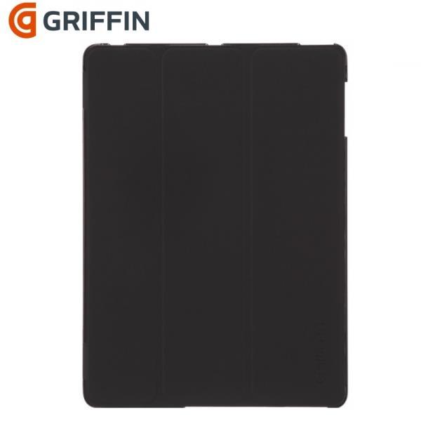 Griffin GB03745 IntelliCase PU Sāniski atverams maks ar stendu Apple iPad 2 / 3 / 4 Melns (Bulk) aksesuārs mobilajiem telefoniem