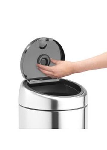 BRABANTIA atkritumu tvertnes smaržas ietvars ar kapsulu, Melns 482045 atkritumu tvertne