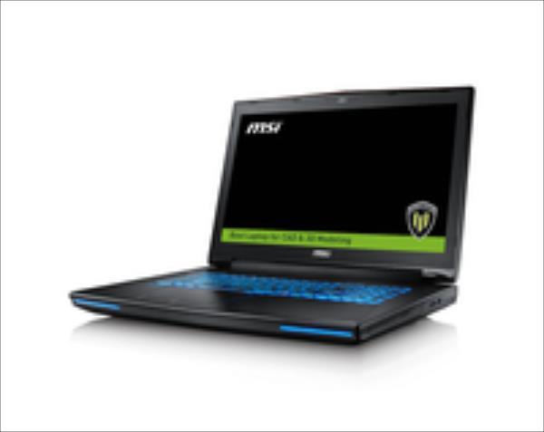 MSI WT72-6QME332SR45BW ECC 17,3 E31505M/32GB/1TB+512MB/W10P Portatīvais dators