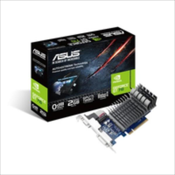 Asus GeForce GT 710 2GB GDDR3 (64 bit) HDMI, DVI, D-Sub Box (710-2-SL-BRK) video karte