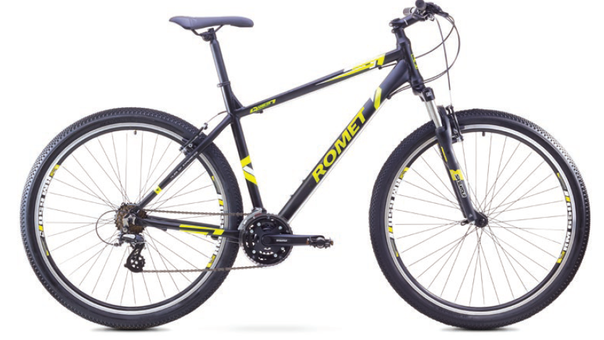 ROMET RAMBLER 29 1 MTB 21.5-XL R29 MELNS/NEO ZAĻŠ kalnu velosipēds MTB