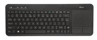 KEYBOARD WRL VEZA TOUCHPAD/ENG 20960 TRUST klaviatūra