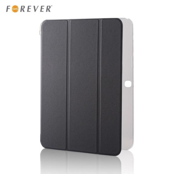 Forever Sāniski atverams maks priekš Samsung Galaxy Tab 4 10.1 T530 T535 Melns planšetdatora soma
