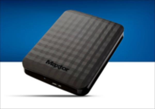 Maxtor M3 Portable 2.5'' 2TB USB3, Black Ārējais cietais disks