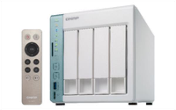 TS-451A-2G 4x0HDD 2GB   1.6Ghz 3xUSB 2xGbE AES Ārējais cietais disks