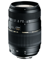 Tamron Lens 70-300mm     F4-5,6 Di MACRO Canon foto objektīvs