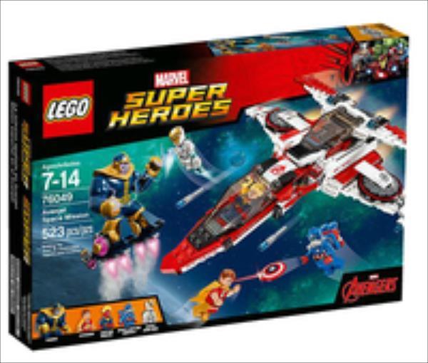 LEGO Avenjet Space Mission V29  76049 LEGO konstruktors