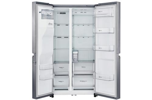 LG GSL761PZUZ Side by Side, Height 179 cm, A++, No Frost system Ledusskapis