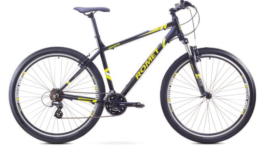 ROMET RAMBLER 29 1 MTB 20-L R29 MELNS/NEO ZAĻŠ kalnu velosipēds 29