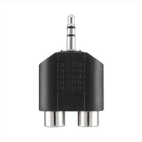 Belkin  Portable Audio Adaptor 3.5mm/ 2xRCA M/F