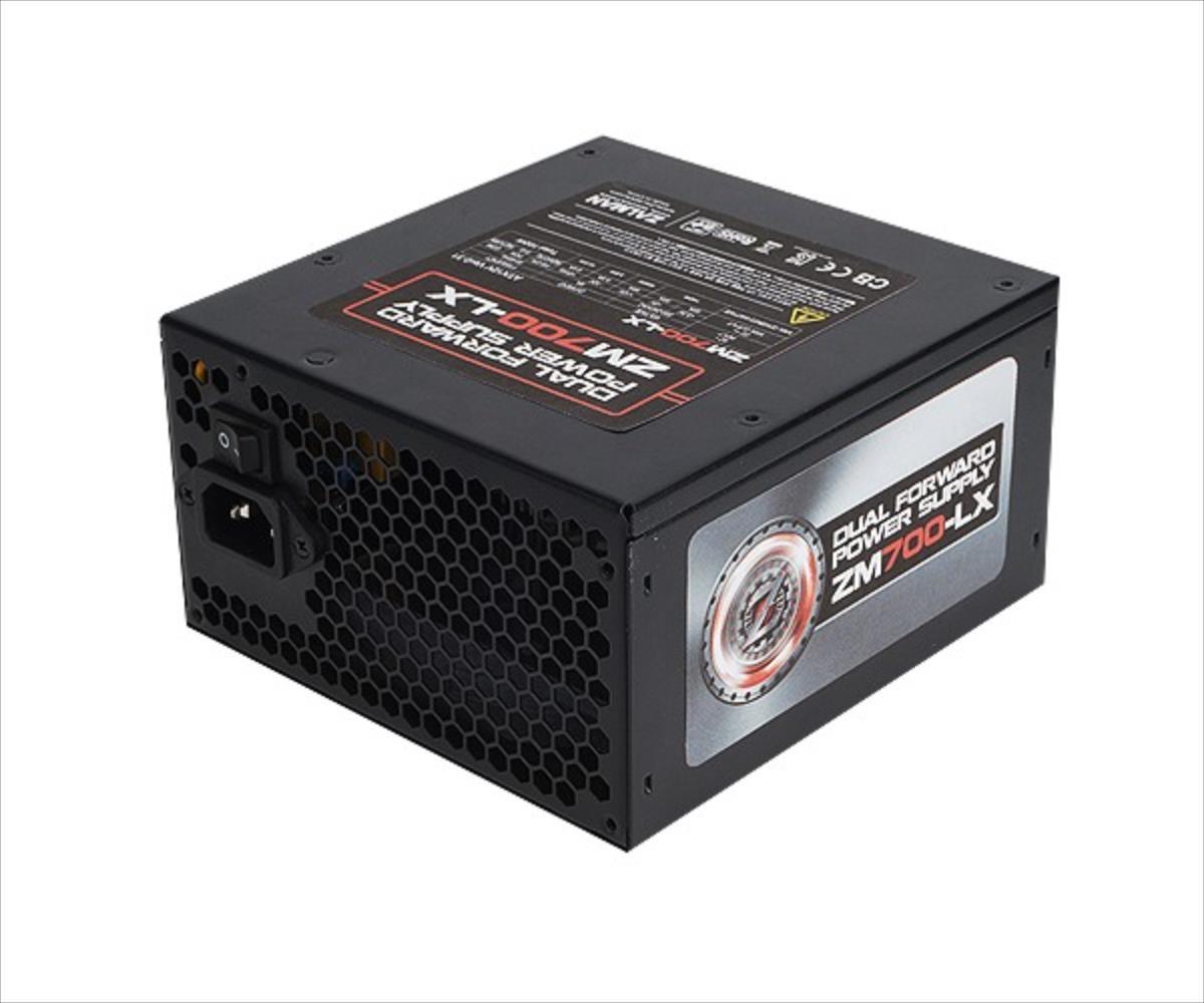 PSU Zalman ZM700-LX 700W, Low noise 140mm fan Barošanas bloks, PSU