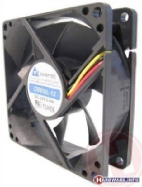 Chieftec AF-0925S case fan - 90x90x25mm -  3 pin/Molex ventilators