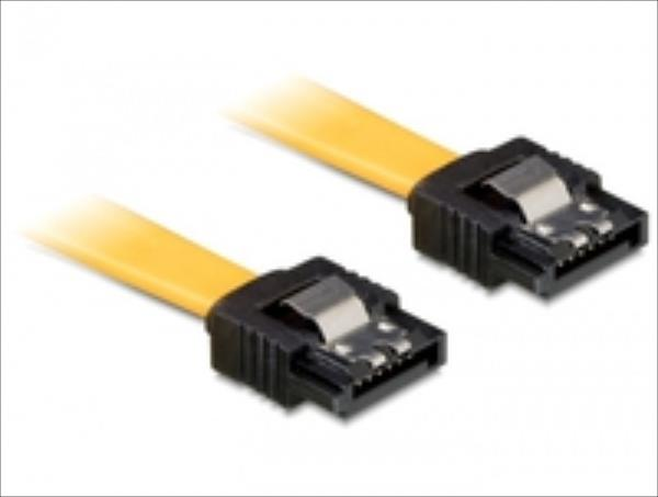 Delock  0.5m SATA M/M kabelis datoram