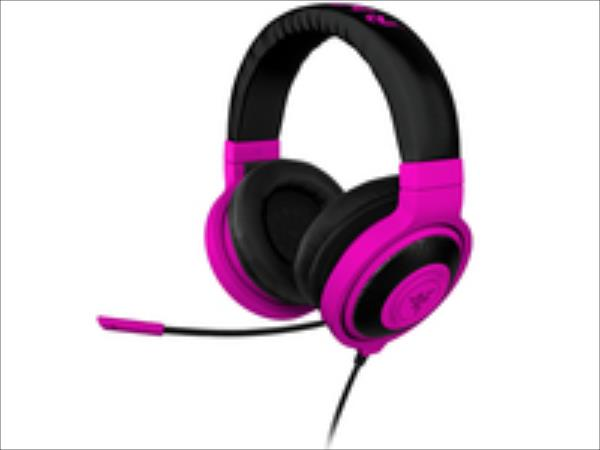 Razer Kraken Pro Gaming Headset Neon Purple austiņas