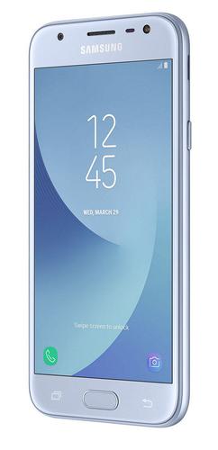 Samsung Galaxy J3 J330F (2017) Dual Sim blue/silver Mobilais Telefons