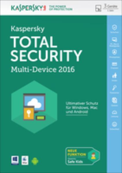 Kaspersky Total Security Multi-Device 2016 programmatūra