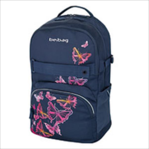 Herlitz 11410347 be.bag cube Butterfly Skolas somas un penāļi