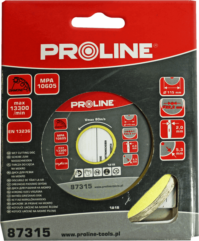Proline Dimanta disks PCN 115x22mm flīzēm
