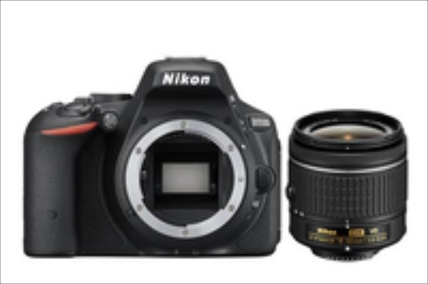 Nikon D5500 + AF-P 18-55mm VR Black Spoguļkamera SLR