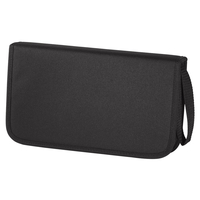 HAMA CD/DVD/BLU-RAY WALLET 64 BLACK