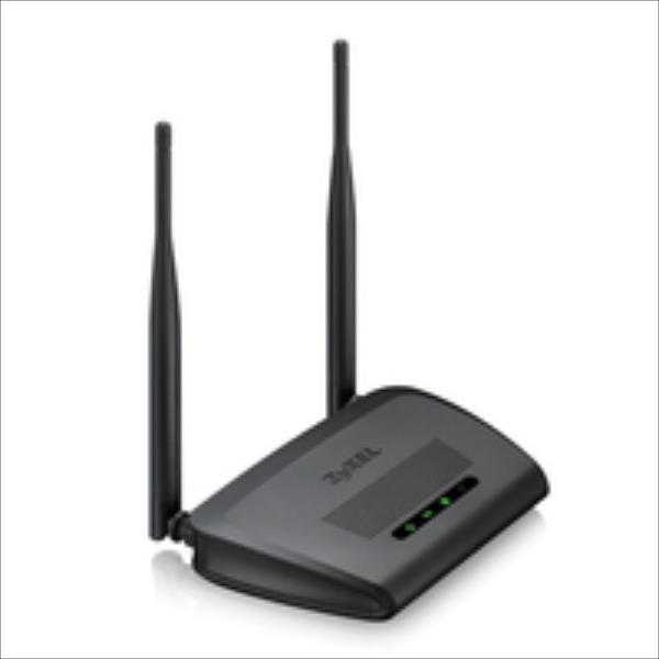 ZyXEL NBG-418Nv2 WLAN Home Router N300 WiFi Rūteris