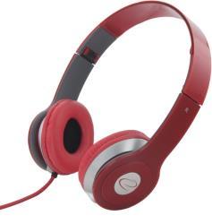 ESPERANZA Audio Stereo Headphones with volume control TECHNO EH145R | 3m austiņas