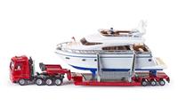 Siku Super truck with yacht galda spēle