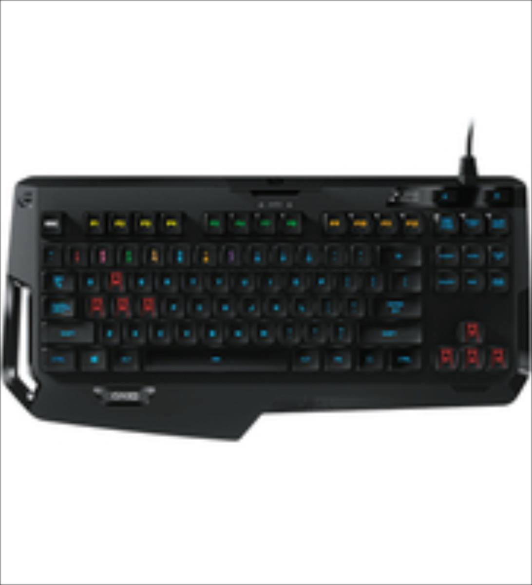Logitech G410 Atlas Spectrum Gaming Keyboard QWERTZ klaviatūra