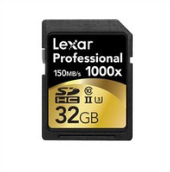 Lexar 32GB 1000X Professional SDHC UHS2 atmiņas karte