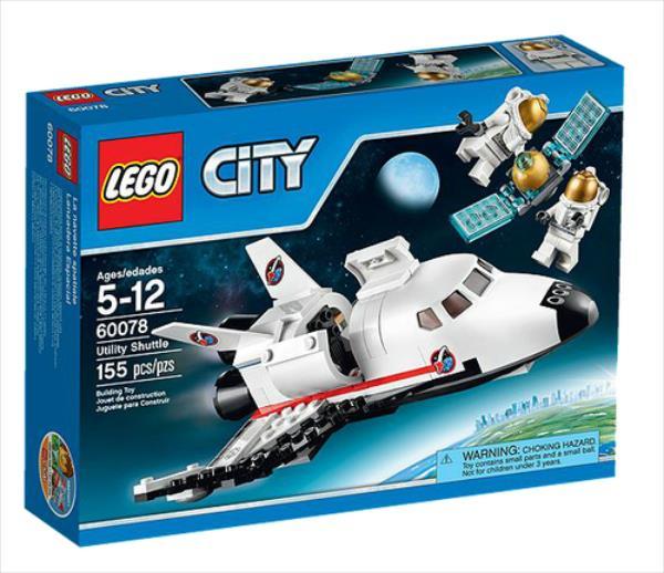 LEGO City Utility Shuttle 155pcs LEGO konstruktors