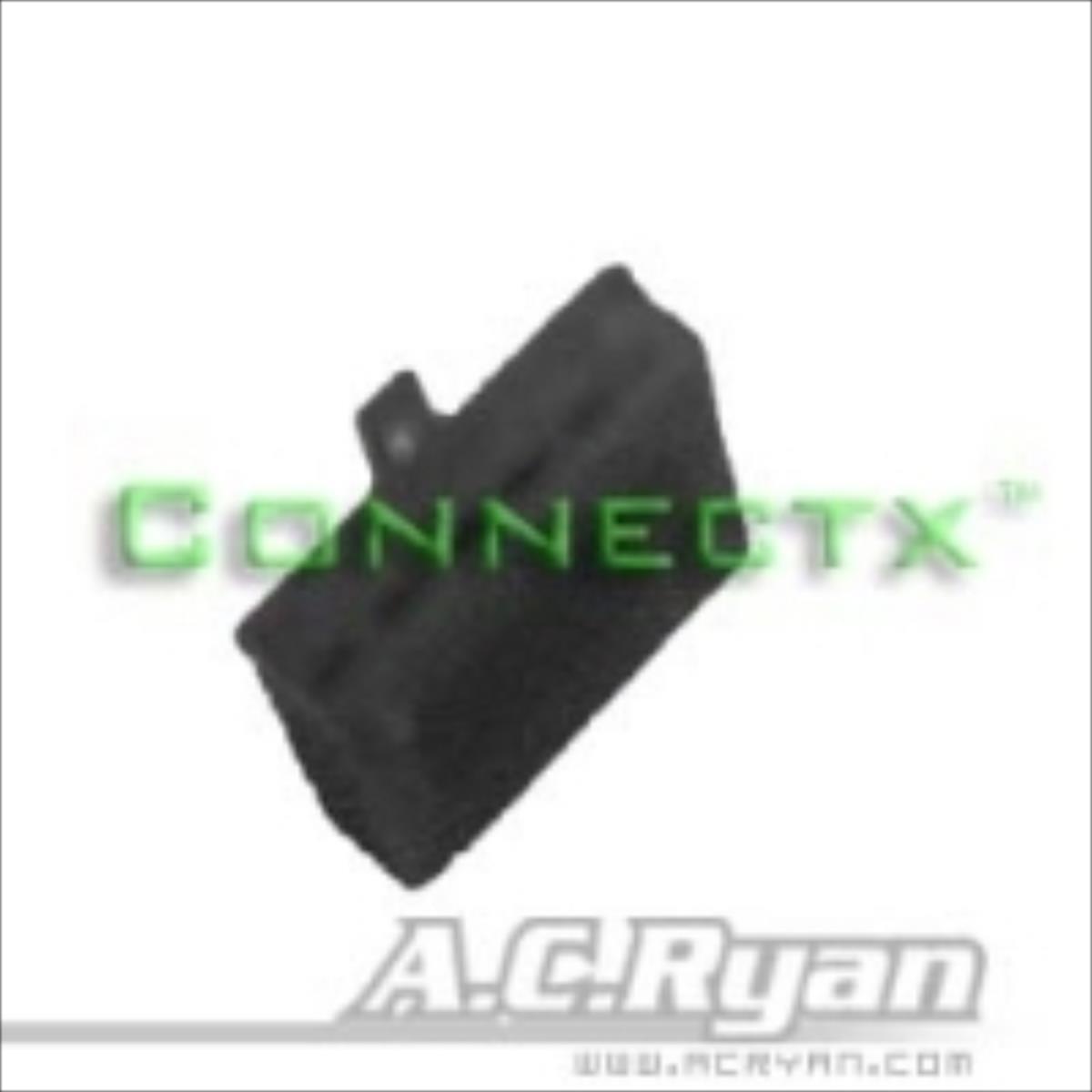 AC Ryan AUX 6Pin Female Pure - black aksesuārs datorkorpusiem