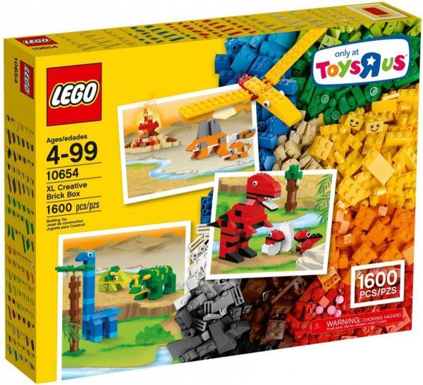 Lego Classic Creative Fibre 1600 blocks LEGO konstruktors