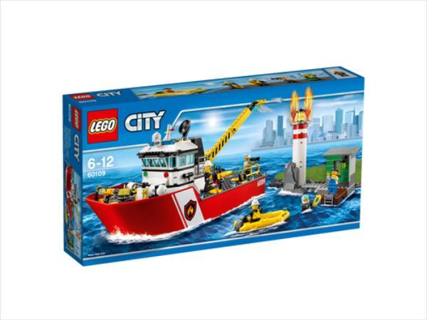 LEGO Fire Boat  60109 LEGO konstruktors