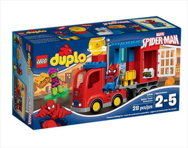 LEGO DUPLO Spider-Man Spider Truck Adventure 28pcs (10608) LEGO konstruktors