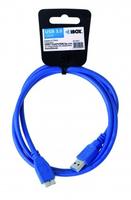 CABLE I-BOX USB 3.0 TYPE A/B MICRO 1M USB kabelis