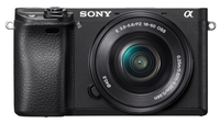 Sony A6300 + 16-50mm Kit System, 24.2 MP, Image stabilizer, ISO 51200, Display diagonal 7.62 cm, Video recording, Wi-Fi, TTL, Magnification Spoguļkamera SLR