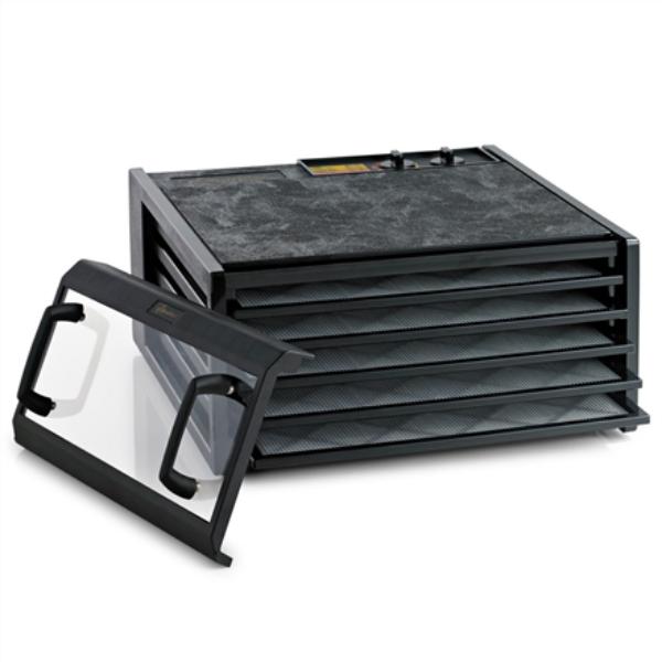 Excalibur Food dehydrator, 5 trays, Timer, Clear door, Black Augļu žāvētājs