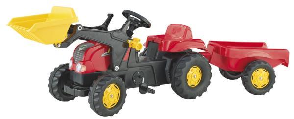 Traktors ar pedāļiem rollyKid-X (2.5-5g.)