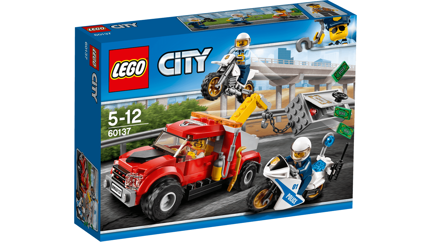 LEGO City 60137 Tow Truck Trouble LEGO konstruktors