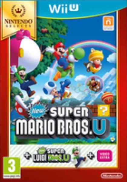 New Super Mario Bros. U & New Super Luigi U Nintendo Selects (Wii U) spēle