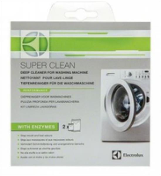 Electrolux E6WMI102M Super-Clean silver Sadzīves ķīmija
