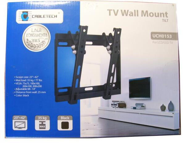 Cabletech UCH0153 (23-42 inch) TV kronšteins TV stiprinājums