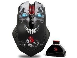 Gaming mouse A4Tech Bloody R80 Color, Wireless, Metal Feet Datora pele